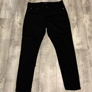 BANANA REPUBLIC WOMENS BLACK SKINNY JEANS